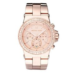 Pin for Later: Dear Couples, It's Time to Make Up For All Those Expensive Gifts Michael Kors Watch When there's no one around to remind you that you're late, you definitely need a watch: Michael Kors rose gold watch Michael Kors Outlet, Handbags Michael Kors, Mk Handbags, Cheap Handbags, Cheap Bags, Designer Handbags, Leather Handbags, Bracelet Cuir, Bracelet Watch