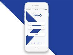 Banking app login interaction ramotion