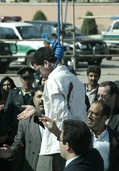Mohammed Bijeh - The Desert Vampire This Iranian serial killer was executed in 2005, in front of a crowd of about 5,000 people. Bijeh raped and killed 16 boys, between the ages of 8 and 15, over the course of one year. At his execution, he was first flogged 100 times. The brother of one victim made it to Bijeh and stabbed him in the back. He was then noosed to the arm of a crane, by the mother of one of his victims, and hoisted into the air
