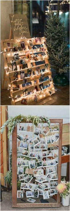 Creative Polaroid Wedding Ideas Too Cool to Pass up! #Wedding #weddingideas