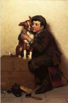 john george brown against his will paintings