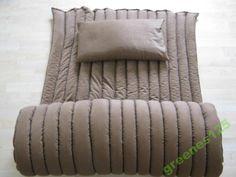 Materac gorczycowy z łuską gryki 80x200  poduszka