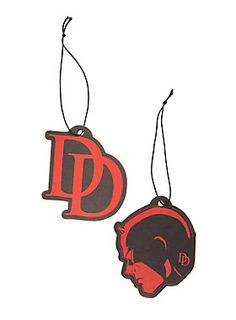 Make superhuman nostrils quiver with these Daredevil air fresheners.