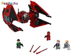 Build and play with Major Vonreg's LEGO® Star Wars™ TIE Fighter from the animated Star Wars Resistance TV series! Lego Shop, Buy Lego, Lego Star Wars Minifiguren, Star Wars Minifigures, Tie Fighter, Caza Tie, Figurine Lego, Lego Stormtrooper, Gifts