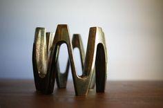 Vintage Dansk Candle Holder | Jens Quistgaard | Mid Century  | Danish Modern Decor | Scandinavian Candleholder | Tarnished Silver