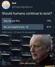 17 Funny I Love Democracy Memes That Show What People Really Think Stupid Funny Memes, Funny Relatable Memes, Haha Funny, Hilarious, Funny Stuff, Dog Stuff, Top Memes, Dankest Memes, Just In Case