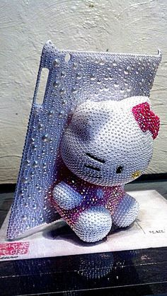 Bejewled Hello Kitty IPAD Case