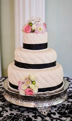 Pastry Shells: The Biltmore Ballrooms Wedding Cake