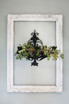 Love this idea for a wall hanging Joanna's Home | The Magnolia Mom