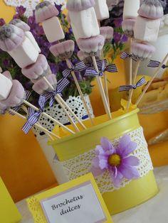 Mesas dulces - Mesas dulces - fiestas personalizadas, sobres de arpillera