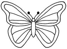 Papillon clipart cute butterfly outline - pin to your gallery. Explore what was found for the papillon clipart cute butterfly outline Butterfly Outline, Butterfly Stencil, Cartoon Butterfly, Butterfly Clip Art, Butterfly Images, Diy Butterfly, Butterfly Template, Butterfly Wings, Simple Butterfly Drawing