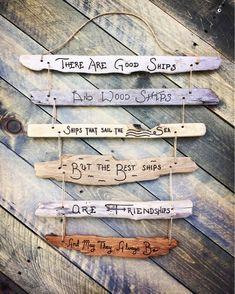Driftwood Signs, Driftwood Projects, Driftwood Art, Driftwood Ideas, Driftwood Sculpture, Beach Wood, Beach Art, Pebble Painting, Pebble Art