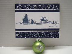 CTMH winter scene card