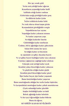 can yücel The Words, Poetry Books, Motto, Quotations, Poems, Believe, Messages, My Favorite Things, Sayings