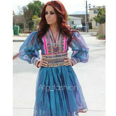 Afghan traditional dress