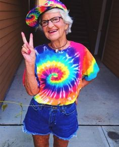 """Baddie Winkle is the COOLEST grandmother you will ever meet!   Winkle states: """"I…"""