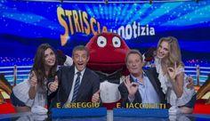 """Stare sul pezzo!: """"STRISCIA LA NOTIZIA"""" LA COPPIA GREGGIO E IACCHETT..."""