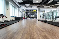 The project would be a perfect 'fit' for international flooring and interiors specialist Gerflor - they would provide their high-end Taralay Impression Control safety flooring in 'Infinity Greige' and 'Esterel Chocolate' colours, together with their uber-performing Taraflex® sports flooring in 'Maple' and 'Lagoon' to the appointed installers Cardiff-based Puma Floors Ltd.