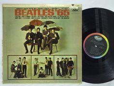 The Beatles '65 Mono T2228 Capitol Rainbow Label LP #Vinyl Record