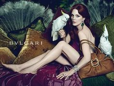 Julianne Moore by Mert & Marcus for the Bulgari advertising campaign,  2011.