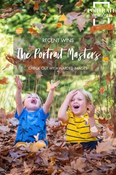 Check out my award winning images from the international Portrat Masters image competition. I was delighted to receive so many bronze awards, demonstrating that the images I create for my clients are consistent and at an internationally recognised high professional standard. Lifestyle | natural & relaxed | playful | autumn leaves | colourful portraits |outdoor portraiture | Christchurch Child & Family photographer Kirsten Naomi Photography