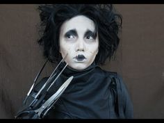 Johnny Depp Make-up Transformation  (Edward Scissor Hands,Captain Jack Sparrow & Willy Wonka )- crazy!!!