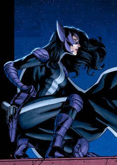 be cast as the voice of 'the huntress' or cast as 'the huntress' in a film. (she is basically my favorite person in the world)