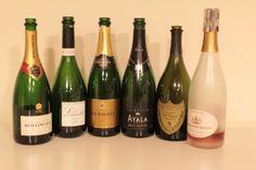 Les vins de la dégustation Champagne du 2 décembre. Une belle réussite !