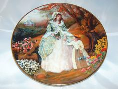 Mouse over image to zoom Have one to sell? Sell now 1986 Vintage Curator Collection Portrait of American Brides, Elizabeth Plate E Bay, Snow Globes, Vintage Items, Brides, Plates, Portrait, American, Antiques, Painting