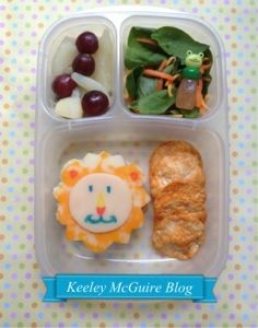Lunch Made Easy: Lion Lunchbox  Fun Food for Kids! @EasyLunchboxes