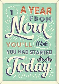 """No Time Like The Present. """"Retro Vintage Motivational Posters"""" By Vintage Vectors Studio #imnotabox"""