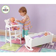 Kidkraft Wooden Lil Doll Cradle