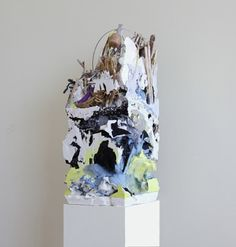 For Sale on - Untitled (Core Sample Foam, Plaster, Found Objects by Jack Henry. Resin Sculpture, Soft Sculpture, Abstract Sculpture, Abstract Art, Abstract Sample, Contemporary Sculpture, Contemporary Art, Painting On Photographs, Workshop