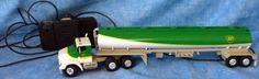 Vintage Wired Control BP Oil Toy Tanker Truck  Made in China B1 #BP