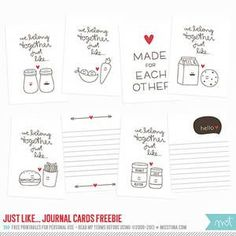 Project Life Free Printables | 100+ Free Printable Project Life Journaling Card Insert Sets ...