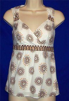http://stores.ebay.com/My-Evergreen-Closet Ann Taylor Loft Petites Sleeveless Career Shirt/Tank/Top  OP  Lined #AnnTaylorLOFT #TankCami #Career