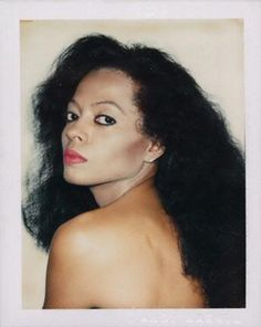 •|• Diana Ross by Andy Warhol