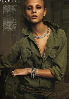 anna selezneva: vogue paris bijoux march 2010.