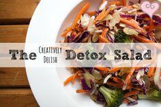 Creatively Delish | The CD Detox Salad | http://creativelydelish.com