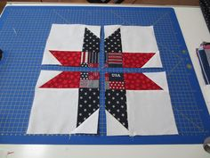 "We Quilt: A Disappearing Nine Patch ""STAR"""