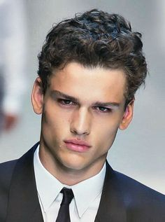 Excellent Men Curly Hairstyles Curly Hairstyles And Hairstyles On Pinterest Short Hairstyles Gunalazisus