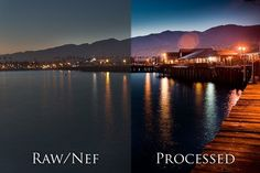 tutorial for processing RAW file into HDR-like images, uses a single photo instead of 3
