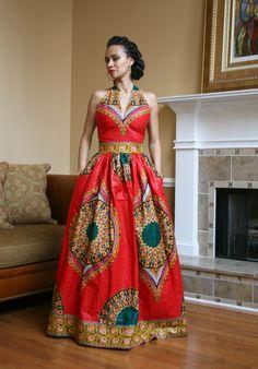 Melange Mode Red Peacock Dress – Zuvaa