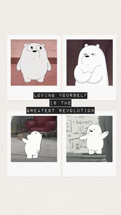 We bare bears wallpaper Funny Phone Wallpaper, Cute Anime Wallpaper, Bear Wallpaper, Cute Cartoon Wallpapers, Cute Wallpaper Backgrounds, Aesthetic Iphone Wallpaper, Aesthetic Wallpapers, Abstract Pencil Drawings, Easy Drawings Sketches