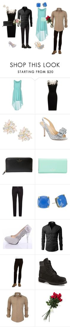 """""""Double date"""" by oonabaard ❤ liked on Polyvore featuring Duck Farm, Cara, Kate Spade, Dolce&Gabbana, Bugatti, Timberland, Hanky Panky, Pier 1 Imports, women's clothing and women"""