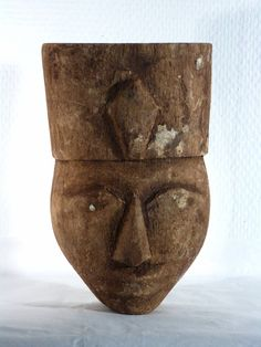 Antique for sale Late Period sarcophagus mask with Uraeus from Egypt Mask Head Sculpture Fine arts architecture