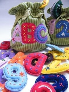 numbers and letters @Misty Haver these would be so cute for Aubrey!
