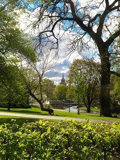 Bastejkalns Park, Riga, Latvia