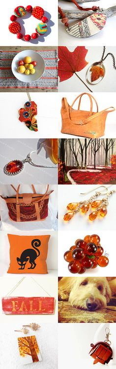 Here Comes Fall by Enzie Shahmiri on Etsy--Pinned with TreasuryPin.com