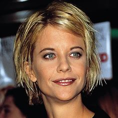 """MEG RYAN - 1997 The Addicted to Love star set the trends with a choppy shag stylist Sally Hershberger called """"a punk rock thing."""""""